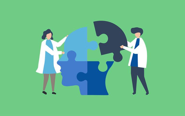 Genezen van een verslaving vraagt een behandeling op maat van elke patiënt. Daarom puzzelen twee deskundigen het hoofd terug in mekaar, samen met de patiënt.