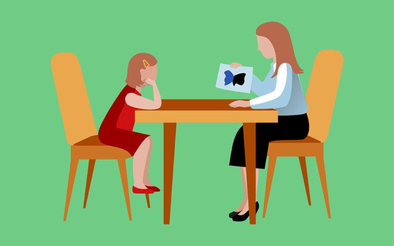 Aandacht voor jonge kinderen is essentieel bij behandeling van een verslaving. Een kindertherapeut gaat met hen aan de slag d.m.v. een spel.